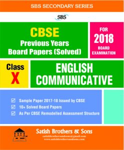 English Communicative (PYQP) - X