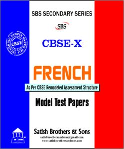French (Model Test Papers) - X