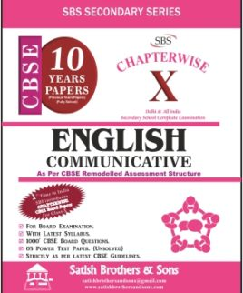 English Communicative Chapterwise 10 years papers