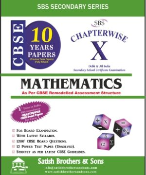 Mathematics Chapterwise 10 years papers
