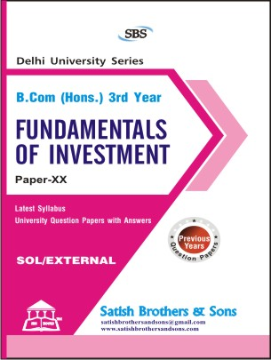 FUNDAMENTAL OF INVESTMENT