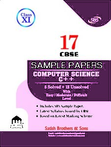 cbse class 11th computer scince sample papers