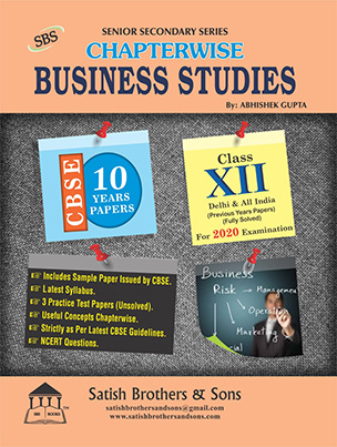 CBSE 12th Business Study Previous Year Solved, Unsolved Sample Question Papers